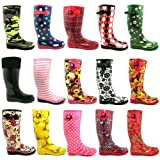Spy Love Buy Womens Festival Wellies Wellingtons Boots Savannah