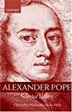 Alexander Pope: Selected Letters (0198185650) by Pope, Alexander