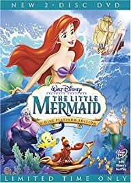 The Little Mermaid DVD Walt Diesny (T…