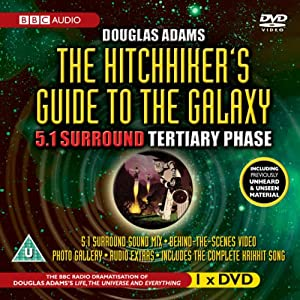 hitchhiker 39 s guide to the galaxy 5 1 surround tertiary phase bbc audio music. Black Bedroom Furniture Sets. Home Design Ideas