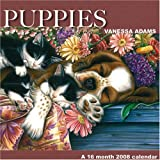 Puppies by Vanessa Adams 2008 Wall Calendar