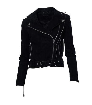 TIGER OF SWEDEN Damen Lederjacke Gipsy Bikerjacke Jacke Leder - Leder - schwarz
