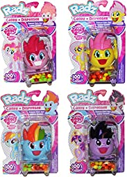 Radz My Little Pony Candy and Dispenser Pack of 4