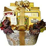 61XIMcK8t7L. SL160  Art of Appreciation Old World Charm Gourmet Food and Snacks Gift Basket