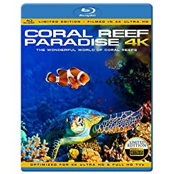 Coral Reef Paradise 4K - The wonderful world of coral reefs ( Limited Edition - Filmed in 4K ULTRA HD) [Blu-ray]