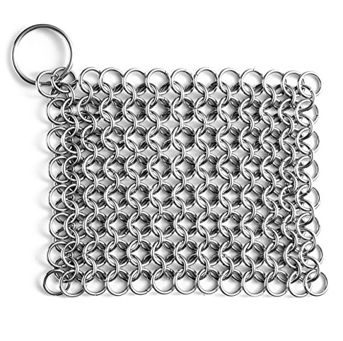 Linkcloth Chain Scrubber For Cast Iron Cookware