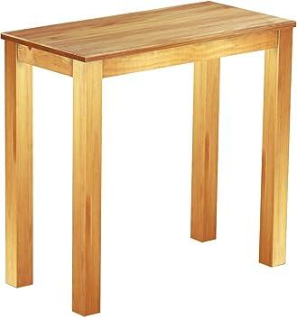 Brasil High Table 'Rio' 115x 56cm Solid Pine Wood, Colour: Honey