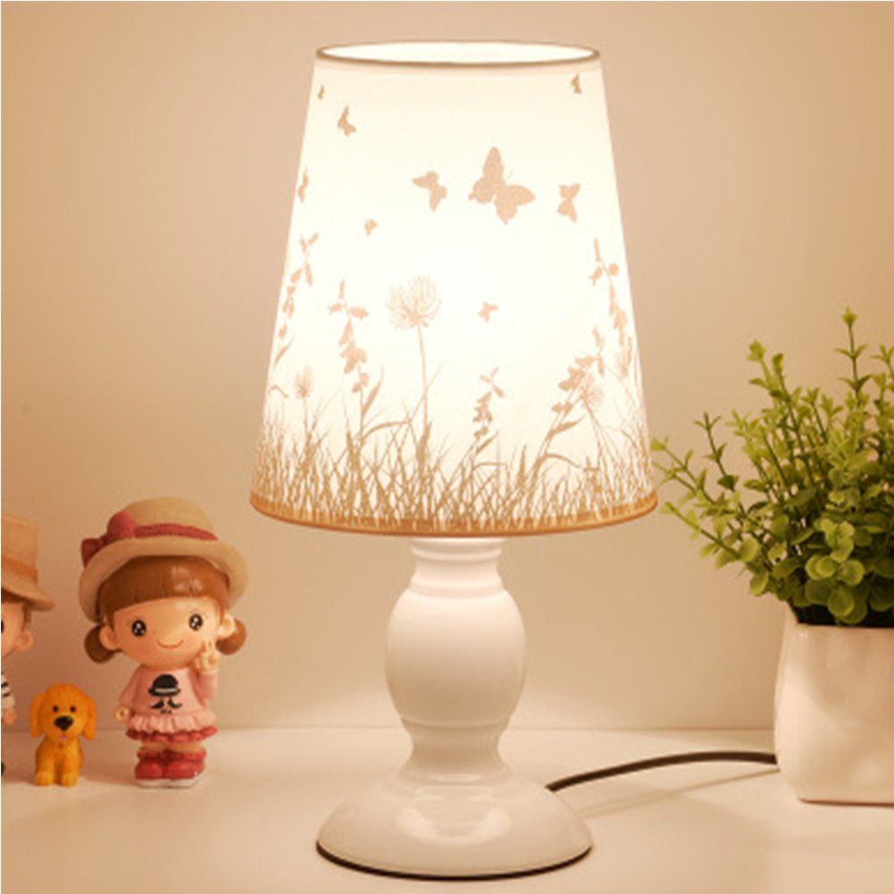 Bedside Lamp Night Lights Small Bedroom 110v Led Table Lamp Reading