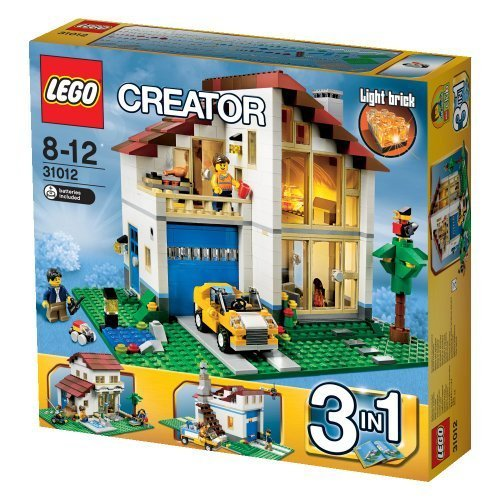 Lego?? Creator?? 3-In-1 Family House Building Set - Mediterranean Villa | 31012 By Lego front-883050