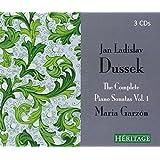 Dussek : Intégrale des sonates pour piano, vol. 1. Garzon.