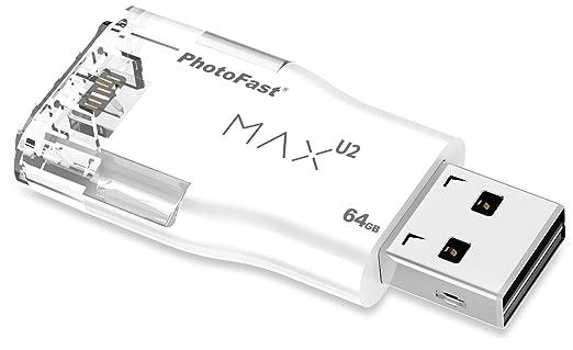 PhotoFast IFlash Lightening Max USB 2.0 64 GB MAXI264GB at amazon