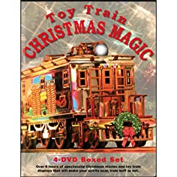 Toy Train Christmas Magic 4 DVD Boxed Set