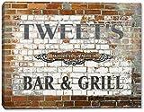 """TWEET'S World Famous Bar & Grill Brick Wall Canvas Print 16"""" x 20"""""""
