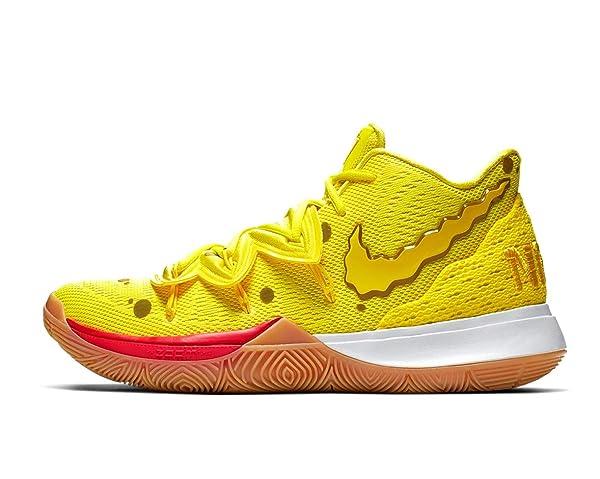 Nike Kyrie 5 (GS) Boys Spongebob Yellow 3Y (Color: Yellow