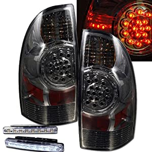 2005 2008 toyota tacoma led smoke tail lights. Black Bedroom Furniture Sets. Home Design Ideas