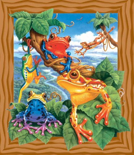 Frogs - 200 Piece Jigsaw Puzzle By Sunsout Inc.