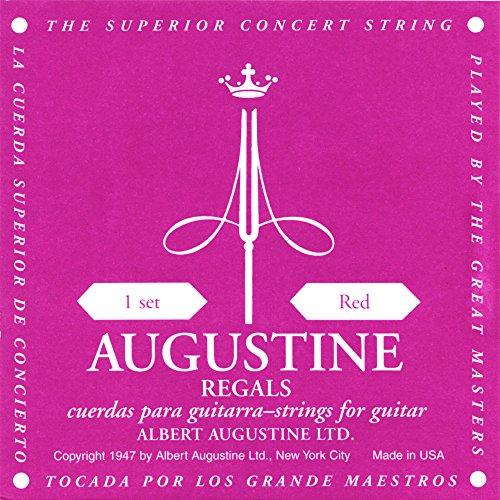 augustine-klassik-gitarrensaiten-regals-label-satz-red-extra-high-tension-bassaiten-medium-tension