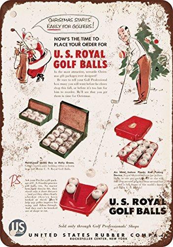 1954-ci-royal-palline-da-golf-stile-vintage-riproduzione-in-metallo-segni-305-x-406-cm