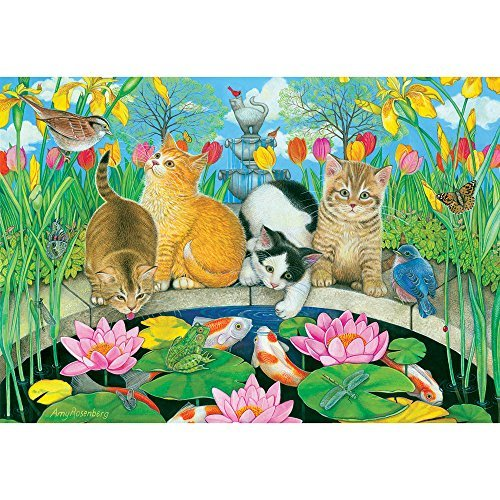 Fish Pond Pals 200 Piece Jigsaw Puzzle by Sunsout Inc.