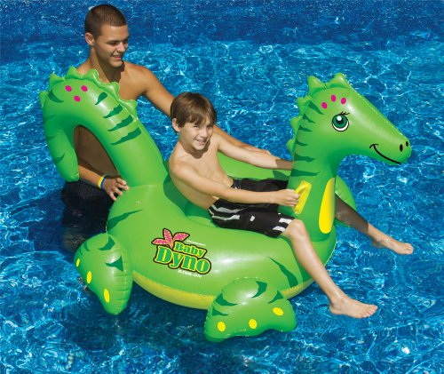 Swimline Baby Dino Ride On front-610519