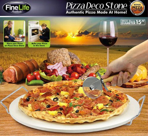 Finelife Products Pizza Deco Stone (15