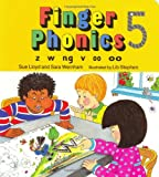 Finger Phonics Book 5: Z, W, Nb, V, Oo/Board Book (Jolly Phonics)