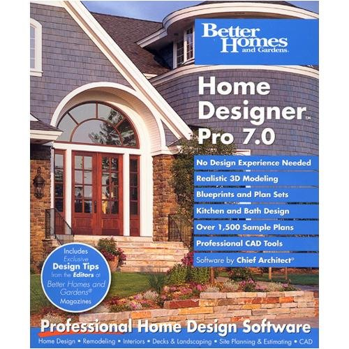 Better Homes And Gardens Home Designer Pro 7.0 front-765566