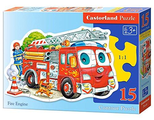 Castorland Fire Engine Jigsaw (15-Piece)