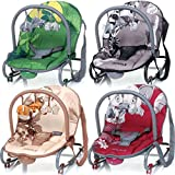Baby Bouncer JUNGLE including removable play arch BEIGE