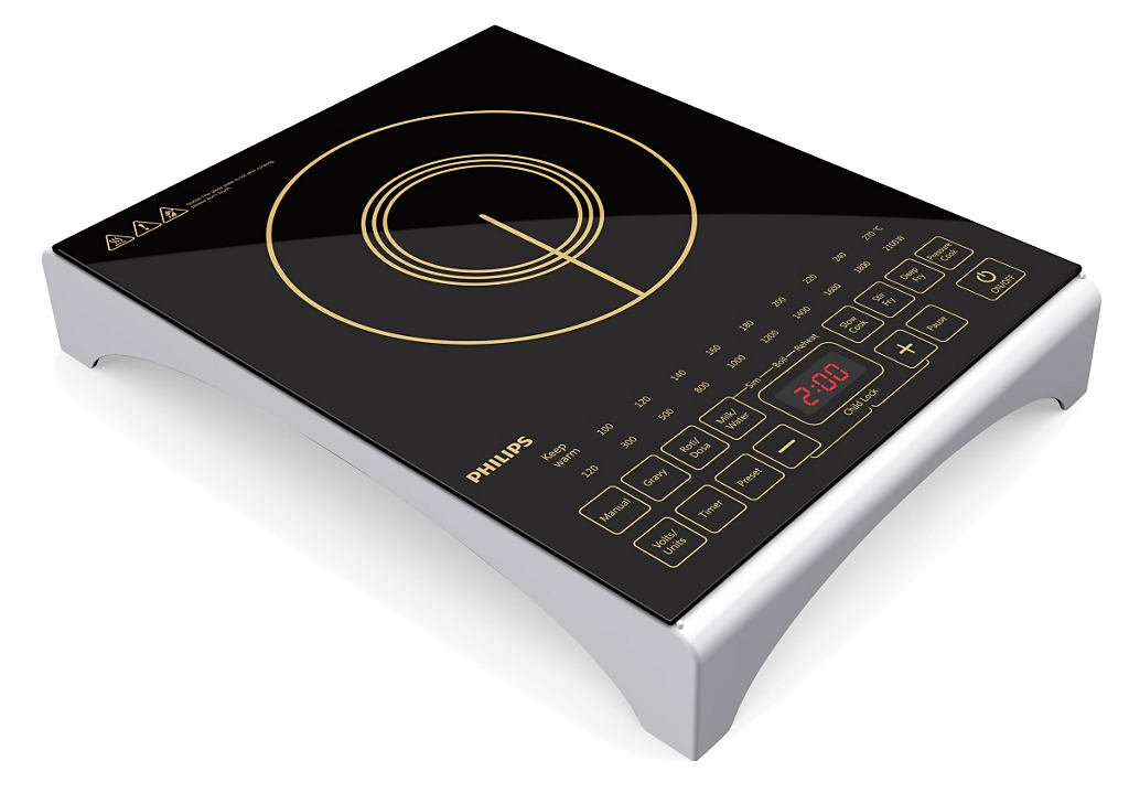 PHILIPS INDUCTION HD 4938 – 2100-WATT COOKTOP
