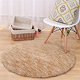 World-Import Sectional Dyeing Round Carpets Computer Chair Mat Living Room Bedroom Carpet Yoga Carpets
