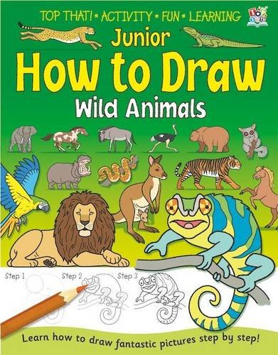 Junior How to Draw - Wild Animals