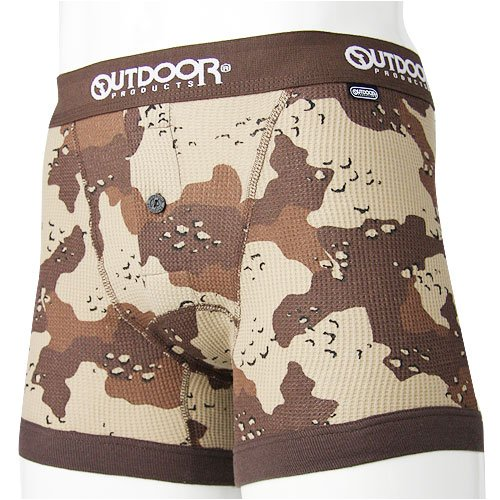 OUTDOOR PRODUCTS カモボクサーパンツ