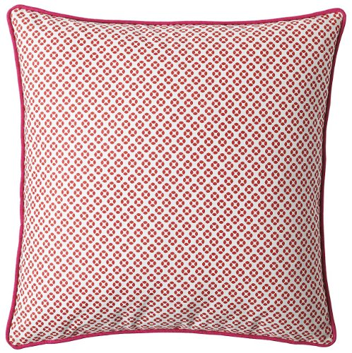 Serena & Lily Cut Circle Dec Pillow  Cover- Coral