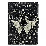 Amazon Kindle Paperwhite ケース かわいい 手帳 オシャレカバー PUレザー スタンド機能カード入れ タッチペン付き (10)
