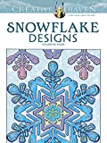 Snowflake Designs: Coloring Book