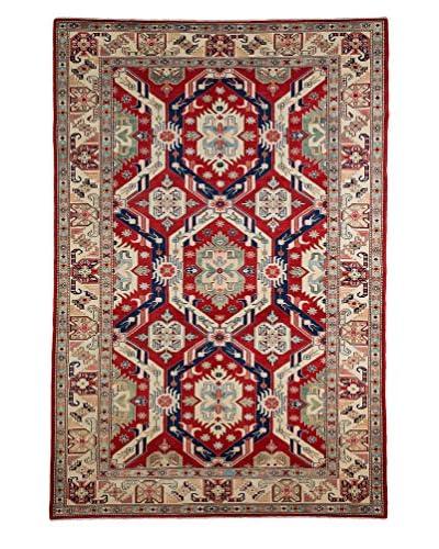 Darya Rugs Shirvan Oriental Rug, Red, 5' 9 x 8' 8