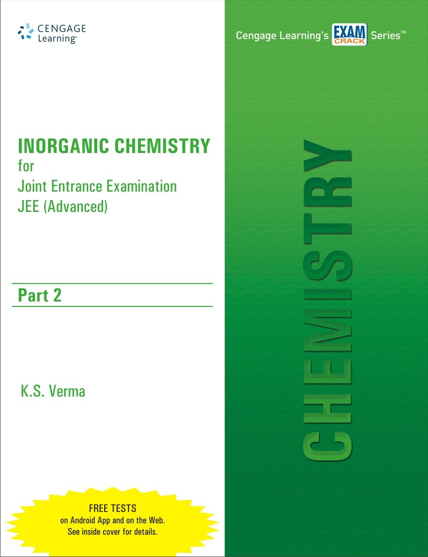 inorganic chemistry for jee advanced part in verma inorganic chemistry for jee advanced part 2 in verma books