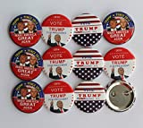 Vote-Trump-for-President-2016-Campaign-Button-pack-of-12