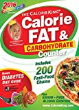 The CalorieKing Calorie, Fat & Carbohydrate Counter 2016: Pocket-Size Edition