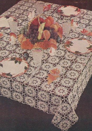 Crochet Oval Tablecloth Patterns