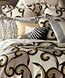 DVF Diane Von Furstenburg Broken Waves Twin Duvet Comforter Cover
