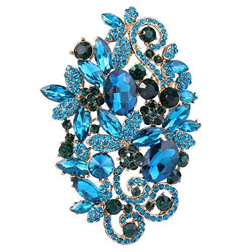 Bijoux fantaisie fleur vintage