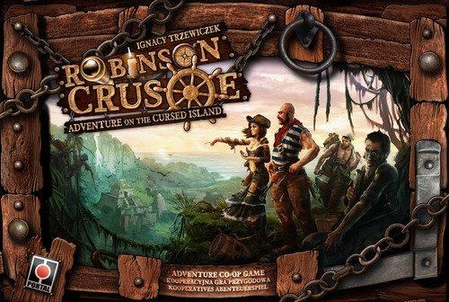 ロビンソン−クルーソー 呪われた島の冒険 Robinson Crusoe Adventures on The Cursed カードゲーム [並行輸入品]