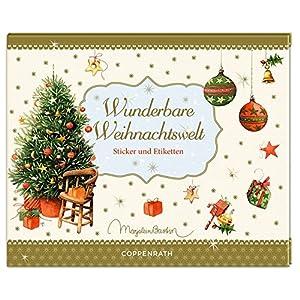 Stickerbuch - Wunderbare Weihnachtswelt: Sticker und Etiketten