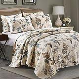 選べる2色ベッドスプレッド 枕カバー ベッドカバー/キルト