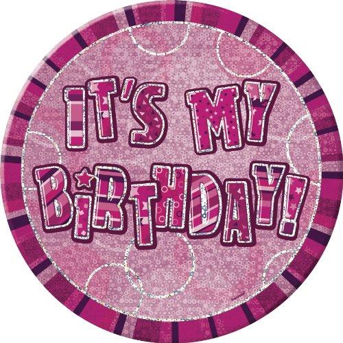 6-glitz-pink-giant-birthday-badge