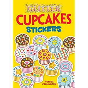 Downloads Glitter Cupcakes Stickers (Dover Little Activity Books Stickers) e-book