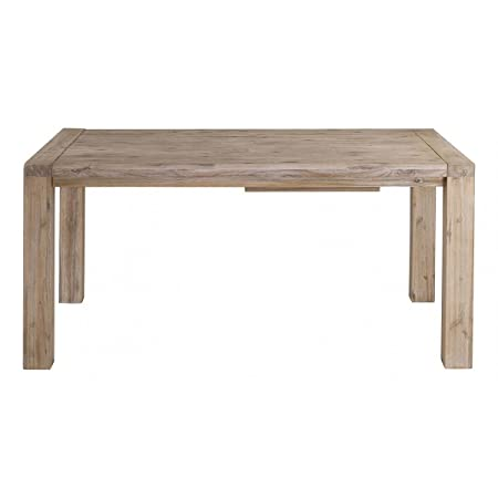 Table repas avec allonge 160/210 cm NEVADA