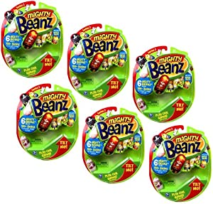 Mighty Beanz 6 Pack Ultimate Collection Gift Set of 36 Randome Series 2 Mighty Beanz from Spin Master
